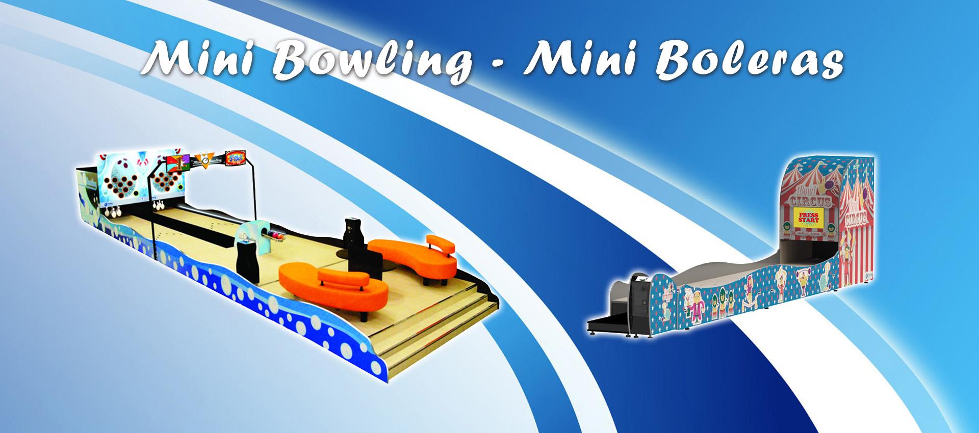Mini boleras Mini Bowling