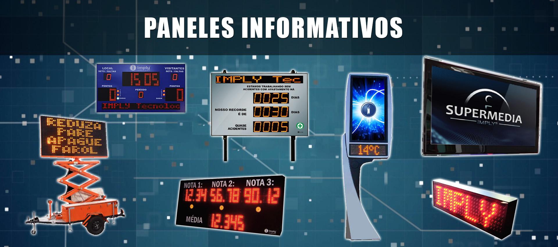 Panales Electrónicos Informativos