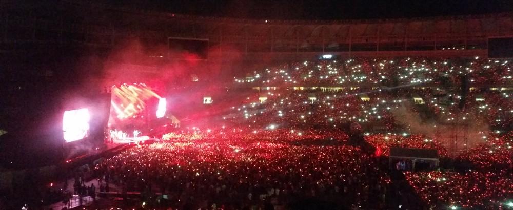 Sistema Imply facilita el acceso a más de 60.000 aficionados para Show Coldplay, en Maracaná