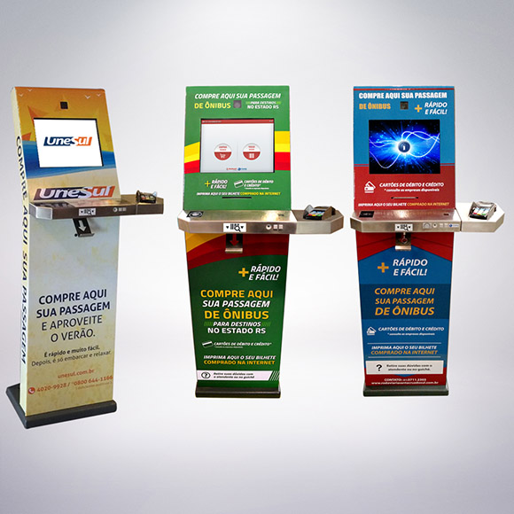 Terminales de Consulta Imply® facilitan la venta de billetes de autobús