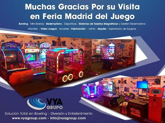 Muchas Gracias por Visitarnos en Feria del Juego Madrid IFEMA