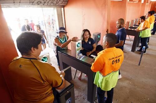 Estadio Mangueirão optimiza el acceso con la tecnología Imply®