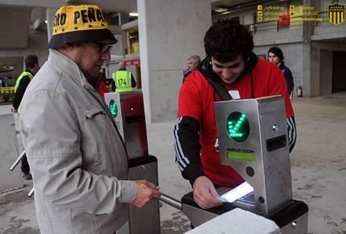Peñarol implementa registro de huellas biométricas