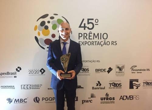Cuatro veces Ganadora: IMPLY® es reconocida con el Premio Exportación RS 2017