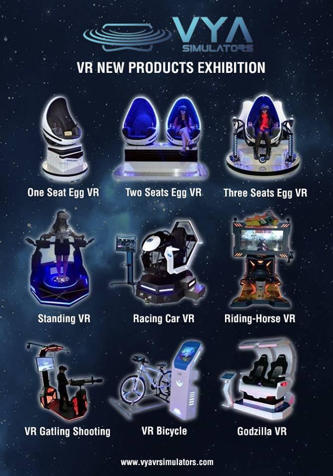 Soluciones en Plataformas, Cabinas y Simuladores VR – Realidad Virtual