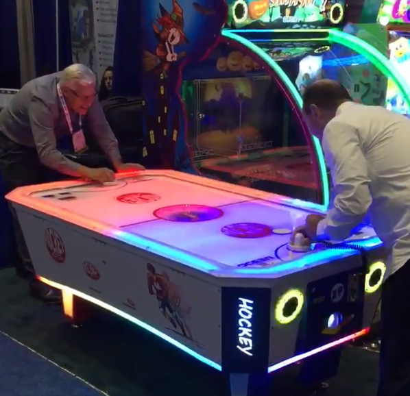 Nueva Air Hockey Exclusiva Grupo VyA Iaapa 2017