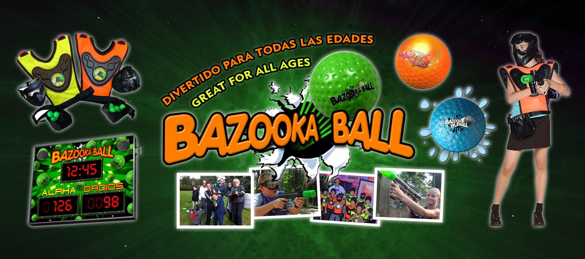 Bazooka Ball: Divertido para todas las edades