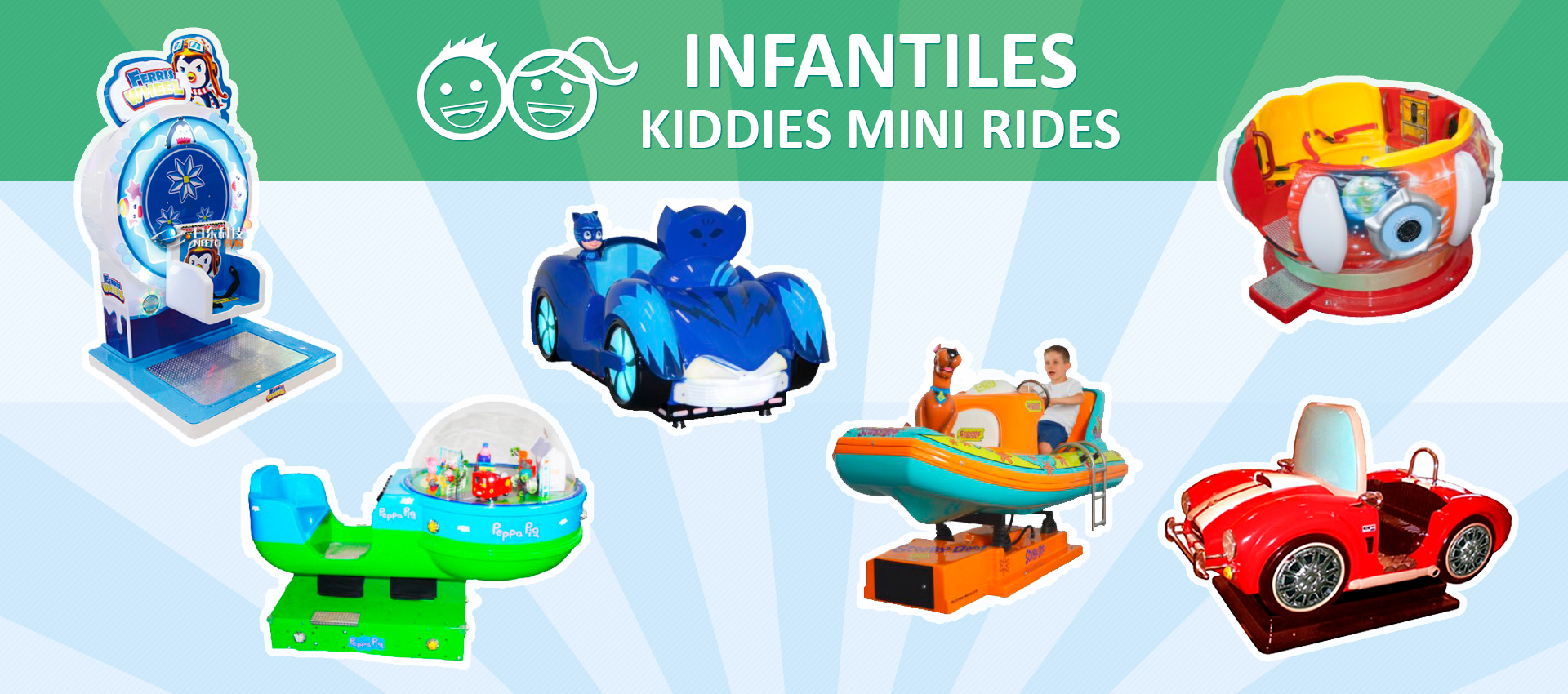 Infantiles Kiddies Mini Rides