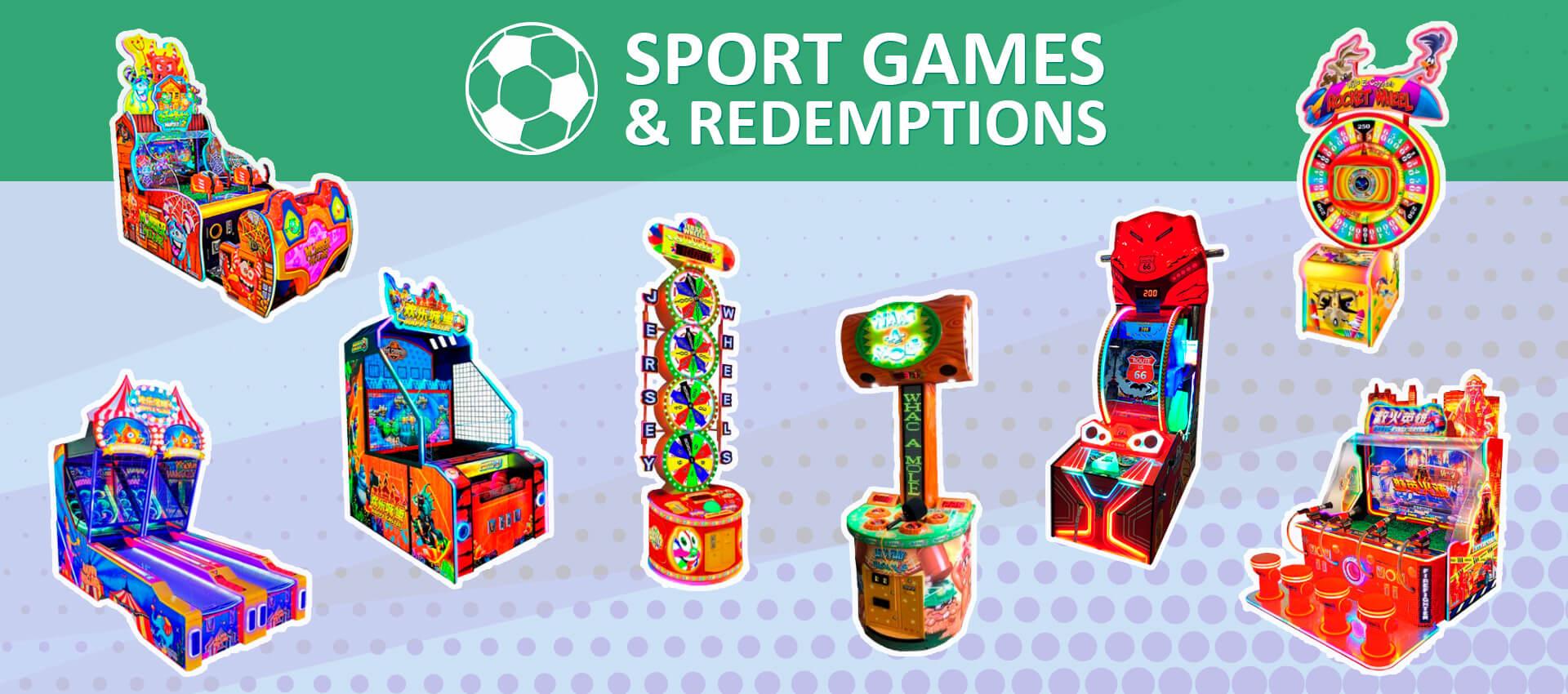Sport Games & Redemptions